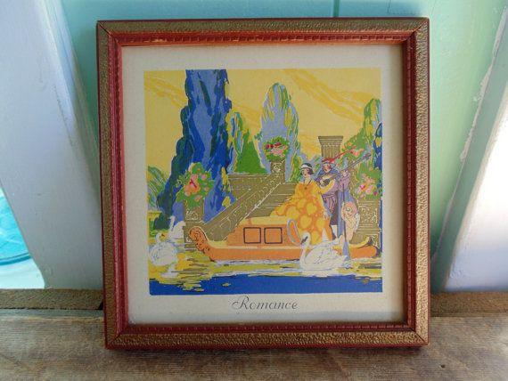 Fresh Art Deco Framed Art