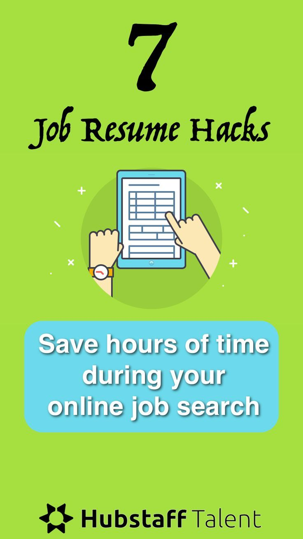 application  u0026 resume hacks for saving hours of time during