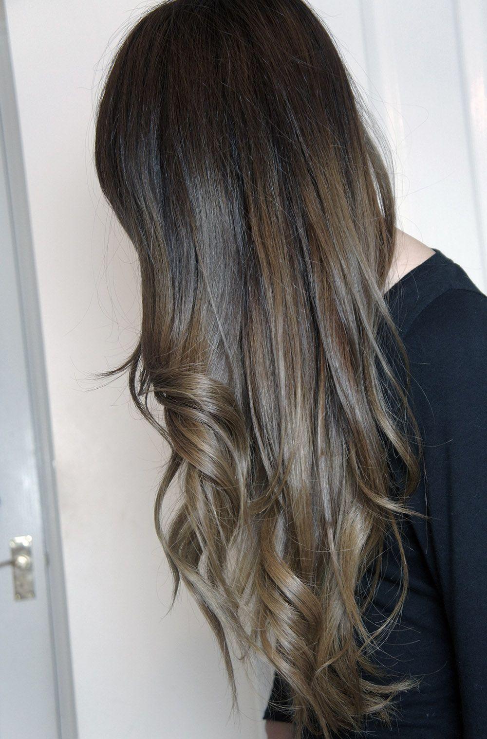 Dark brown hair ombre tumblr enchanting dark brown hair ombre