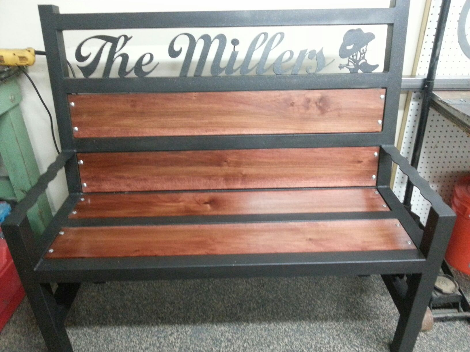 benches made custom walnut bench westchester orig ny