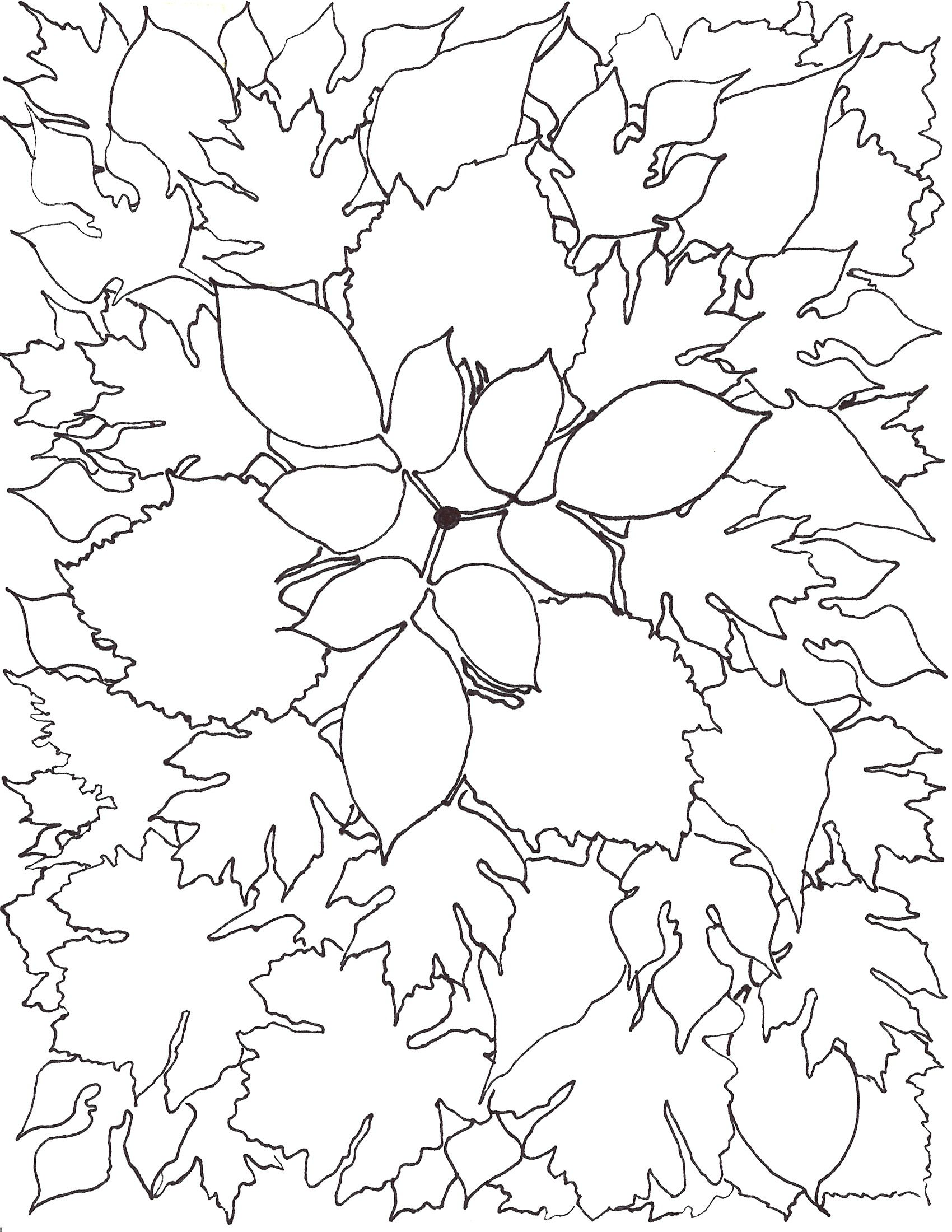 This Is An Autumn Leaf Mandala I Created You Are Welcome