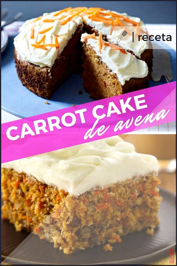 RECETA DE CARROT CAKE DE AVENA  Quieres probar una RECETA FITNESS SALUDABLE 2142runners receta carro...