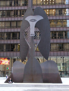 Pablo Picasso, untitled, 1967, 15 m (50 ft), Daley Plaza, Chicago ...