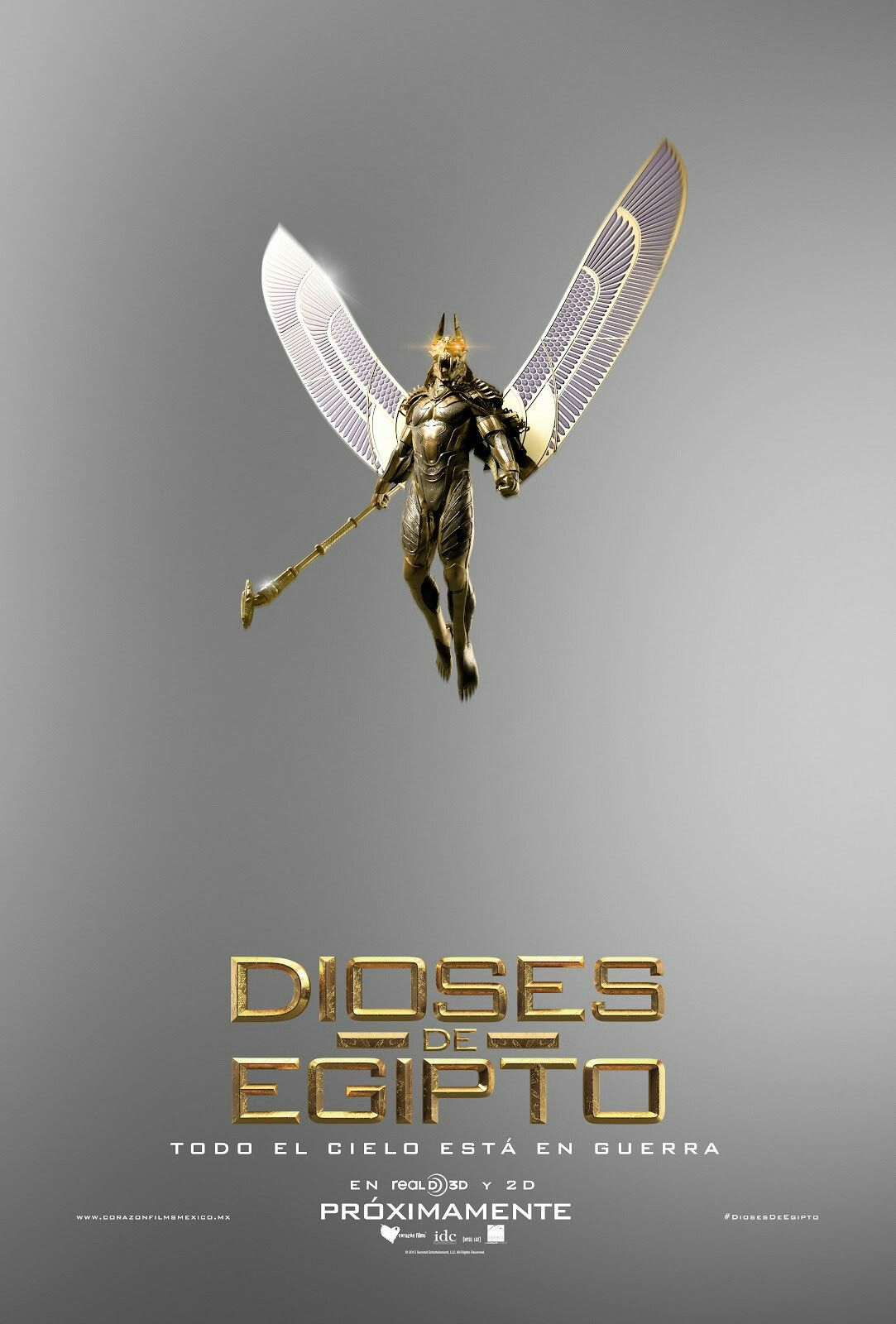 Gods Of Egypt Película Dioses De Egipto Egipto Dioses Egipcios