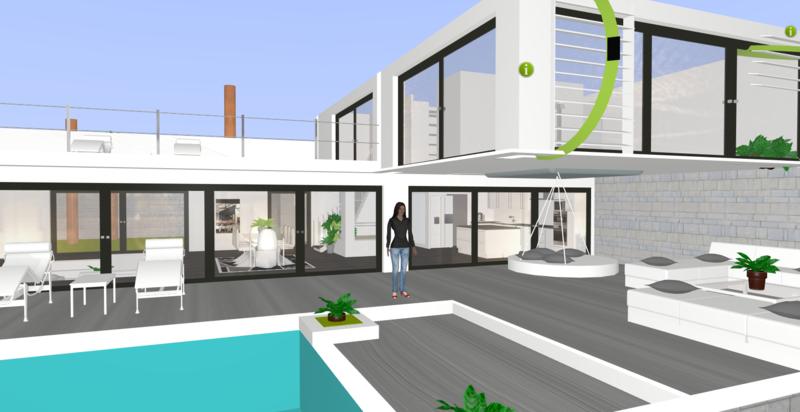 Awesome Plan 3D Réalisé Par Notre Membre Apollo Sur Kozikaza. #plan #3D  #architecture