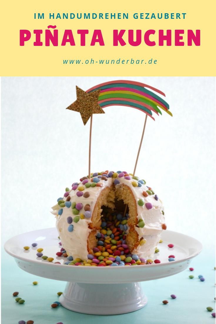 Photo of Piñata Kuchen leicht gemacht!