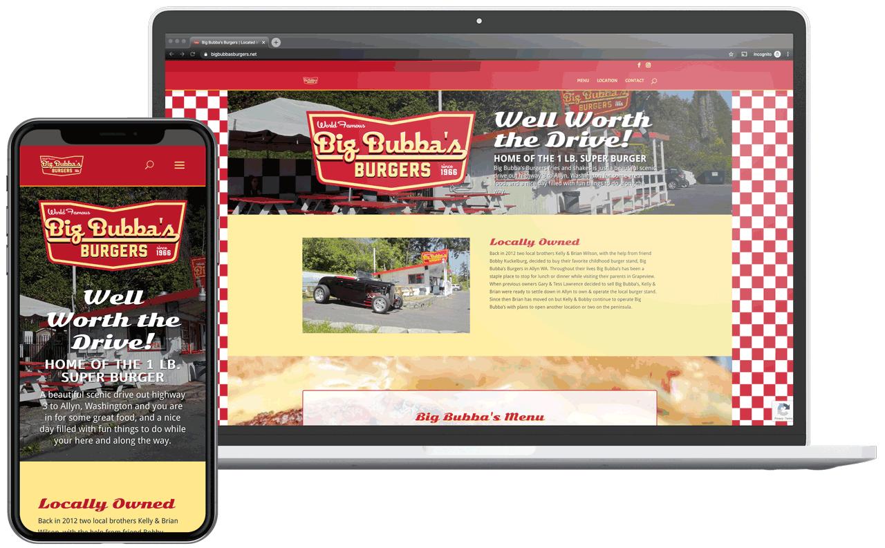 Big Bubba's Burgers Bubba burgers, Amazing burger, Local