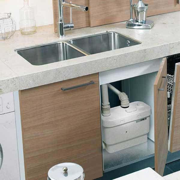 Saniflo Sanivite Kitchen And Utility Macerator Pump | Aux Apartment ...