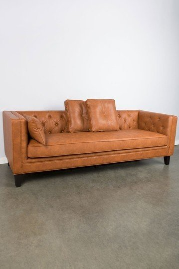 Vegan Leather Couch Ideas On Foter Tufted Sofa Leather