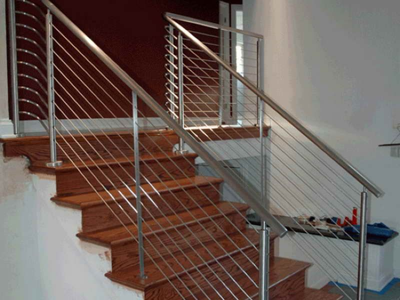 cable stair railing kit cable stair railing kits interior. Black Bedroom Furniture Sets. Home Design Ideas