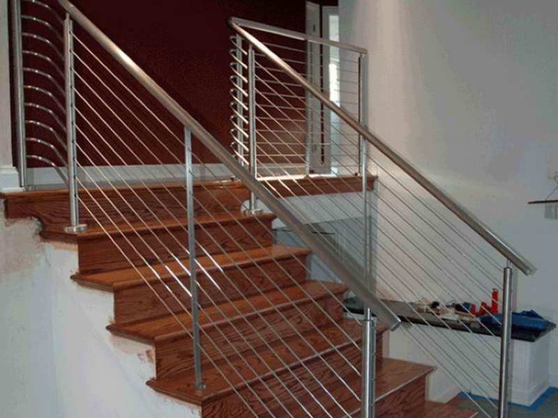 Cable Stair Railing Kit Cable Stair Railing Kits Interior Cable Stair  Railing, Wood Railings For
