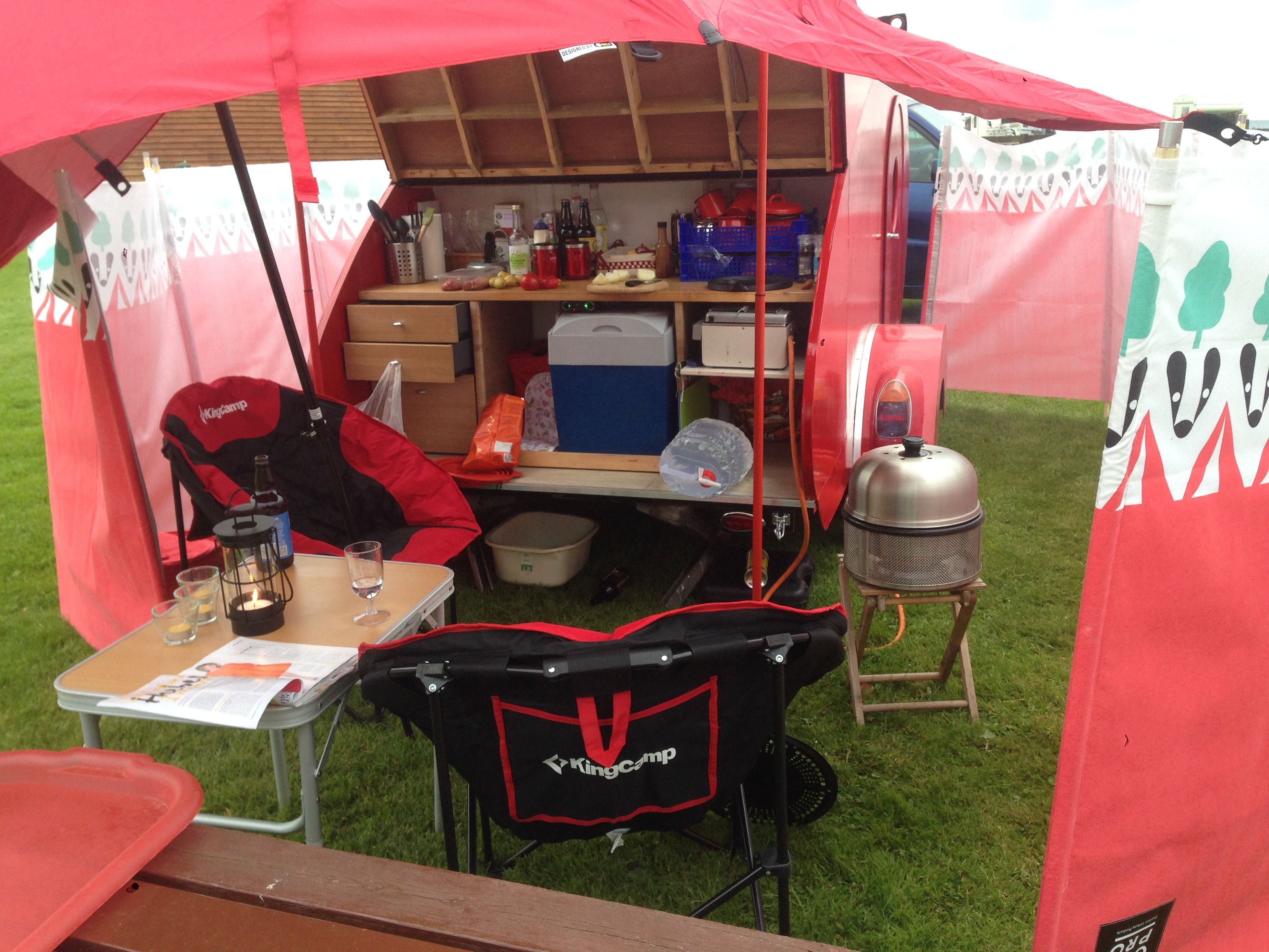 galley setup with cobb bbq | gallies | pinterest | cobb bbq and