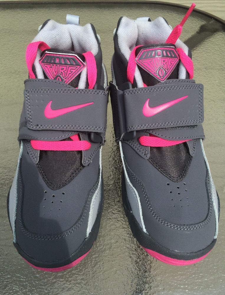 Training NEW PINK AIR DIAMOND SZ TURF Nike Turf GS 2Y GRAY N8nwv0m
