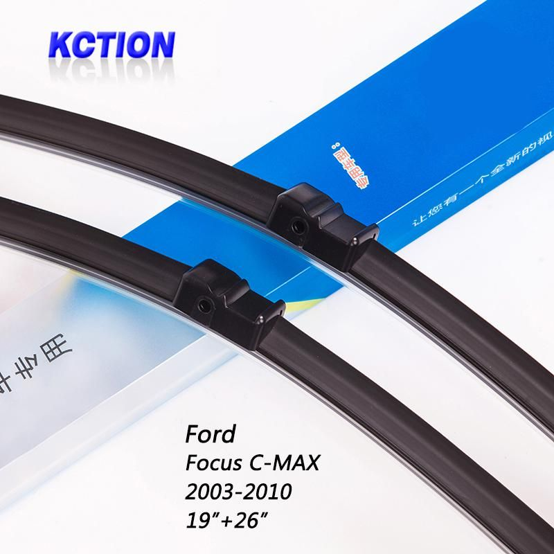 Car Windshield Wiper Blade For Ford Focus C Max 2003 2010 19 26 Natural Rubber Bracketless Accessories Yesterday S Price Us 29 86 03 Eur