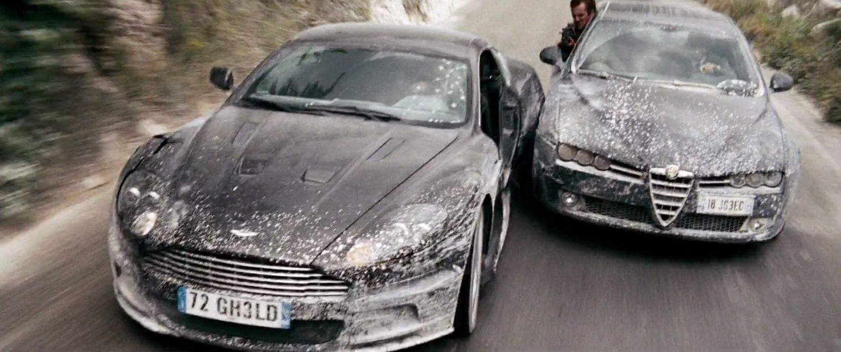 Aston Martin Dbs 2008 And Alfa Romeo 159 2008 Cars In