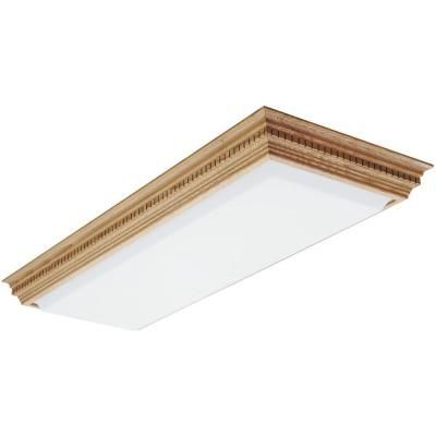 Lithonia Lighting Dentil 1-1/2 ft. x 4 ft. Fluorescent Ceiling ...