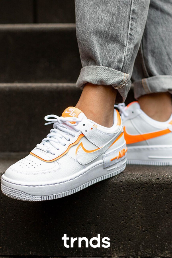 air force 1 shadow orange femme