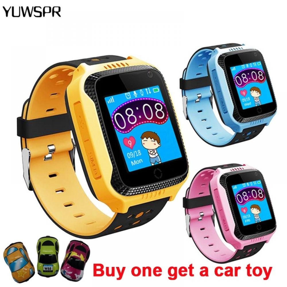 kids watches GPS tracker watch SOS call Location Position