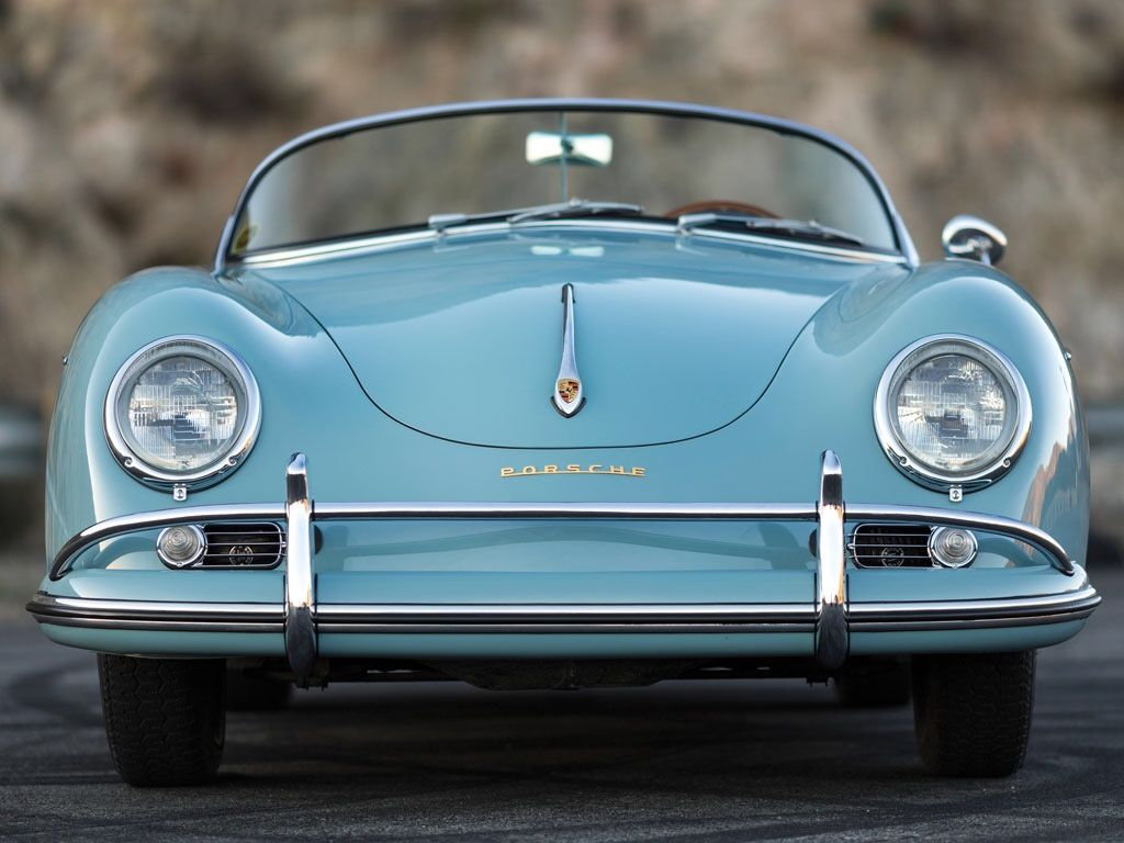 One gorgeous #Porsche in blue! #Classic #Convertible #Style #Design #Beauty