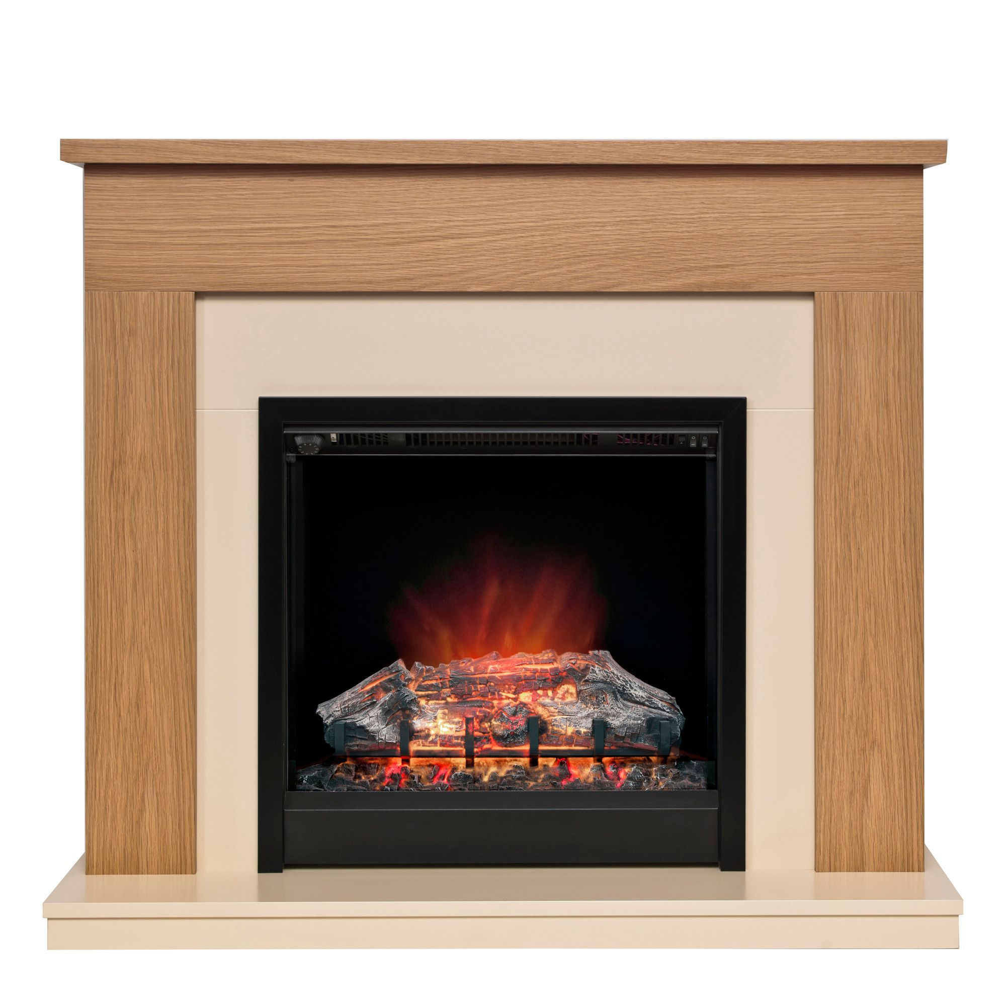 Blakemere Electric Fire Suite Departments Diy At B Amp Q 163