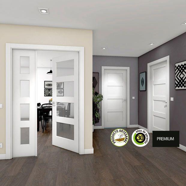 Puertas de interior de madera leroy merlin puertas pinterest interiores de madera - Puertas correderas jardin leroy merlin ...