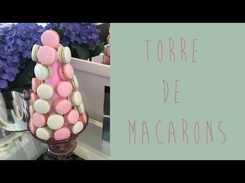 Como Fazer Torre de Macarons - Blog de Casamento DIY da Maria Fernanda