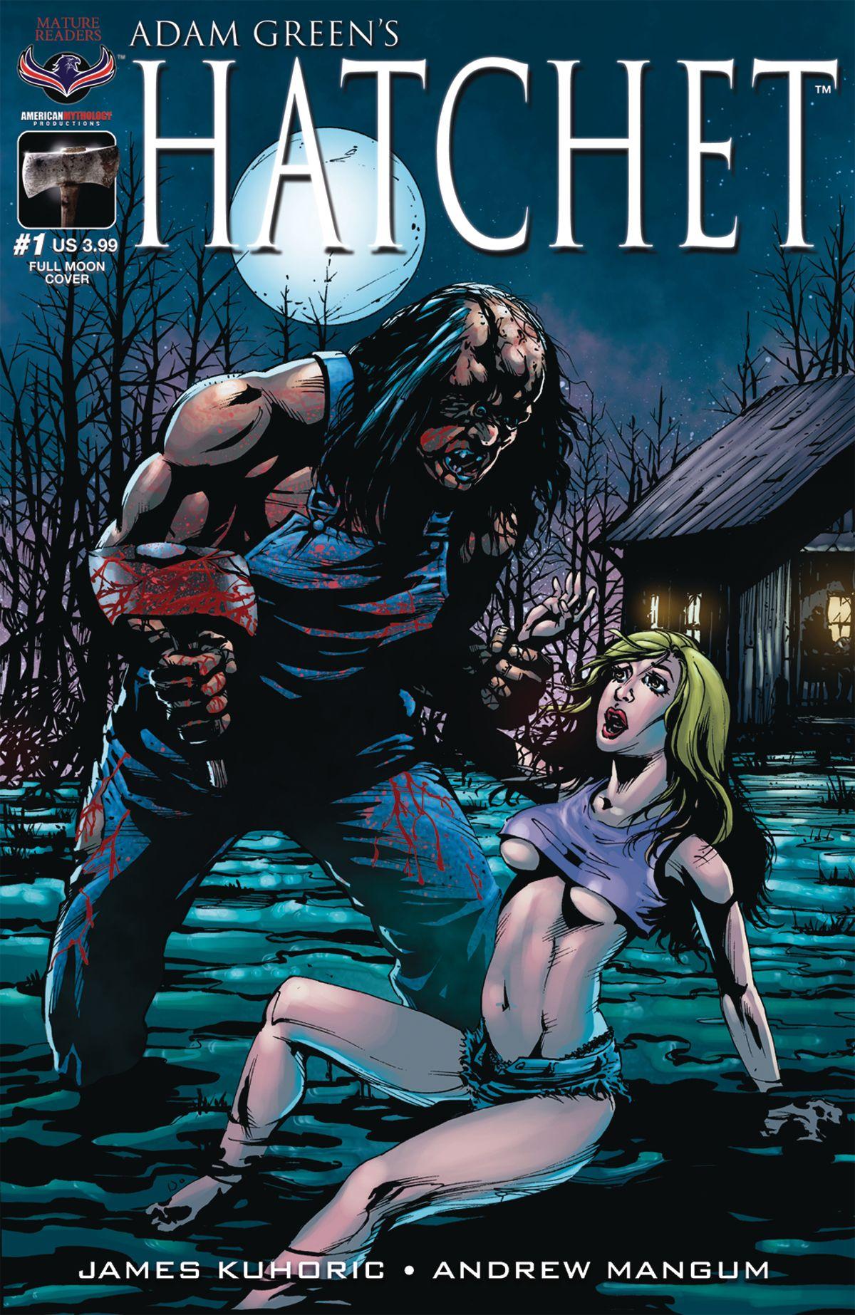 American Erotic Comics hatchet #1 larocque full moon cvr | mythology, american