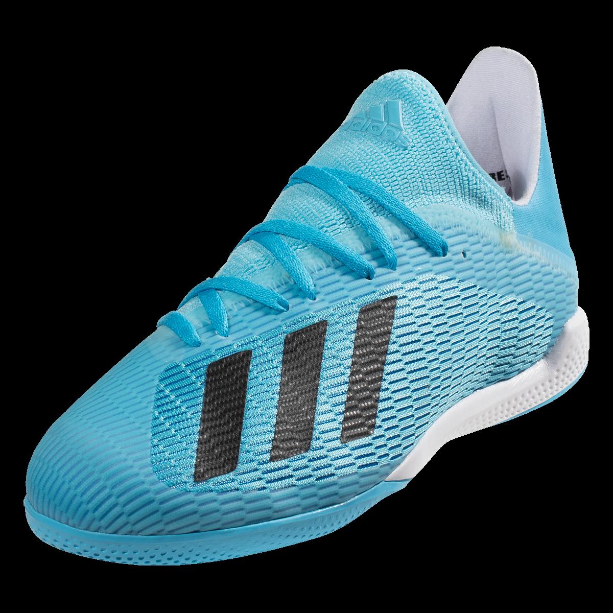 adidas X 19.3 IN Indoor Soccer Shoes CyanBlackPink 10.5