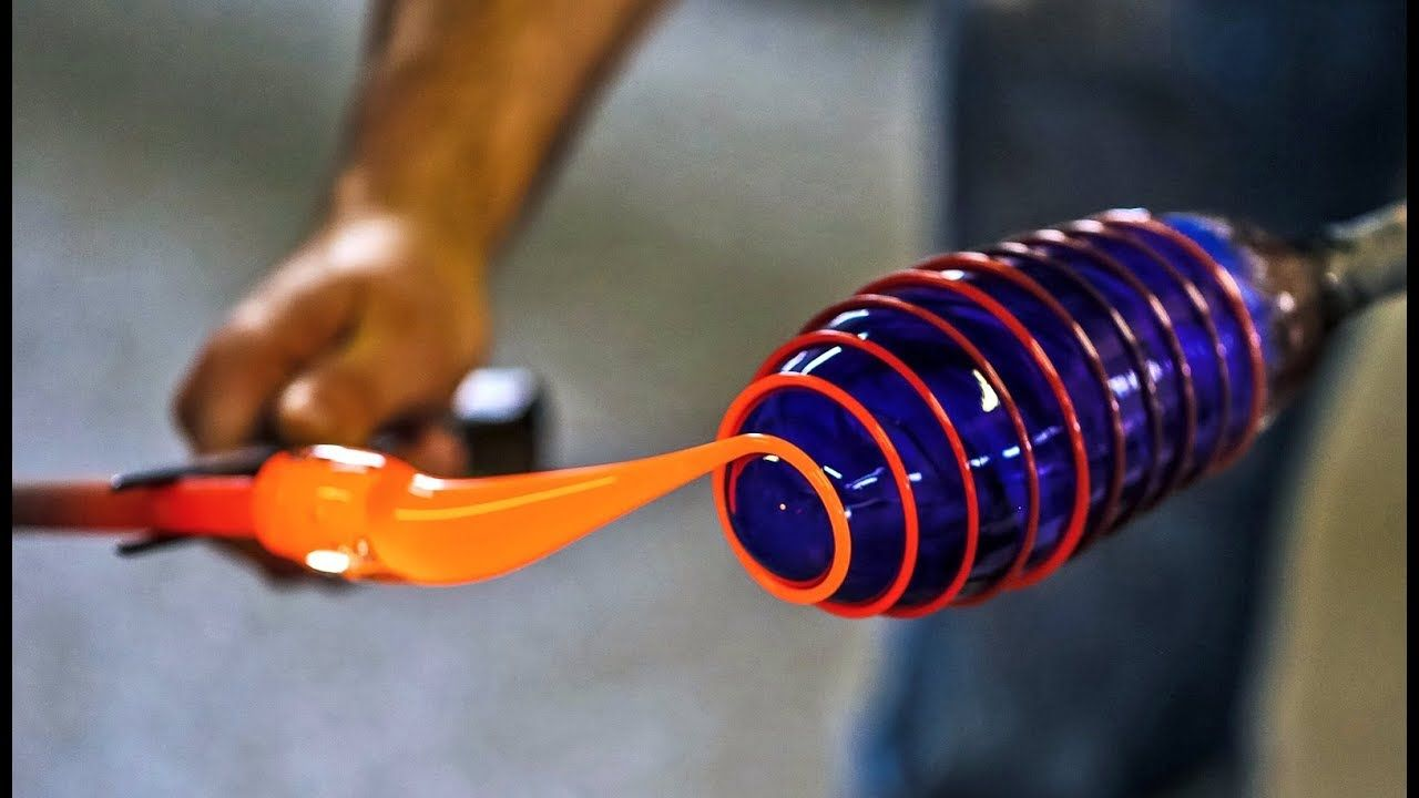 The Most Satisfying Videos In The World Glass Making Satisfying