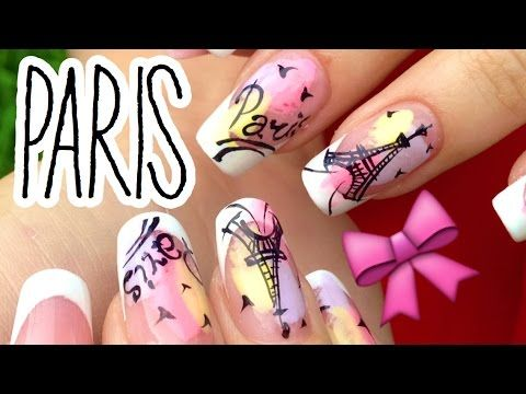 Youtube Youtube Tutorials Pinterest Paris Nails And Nail Art