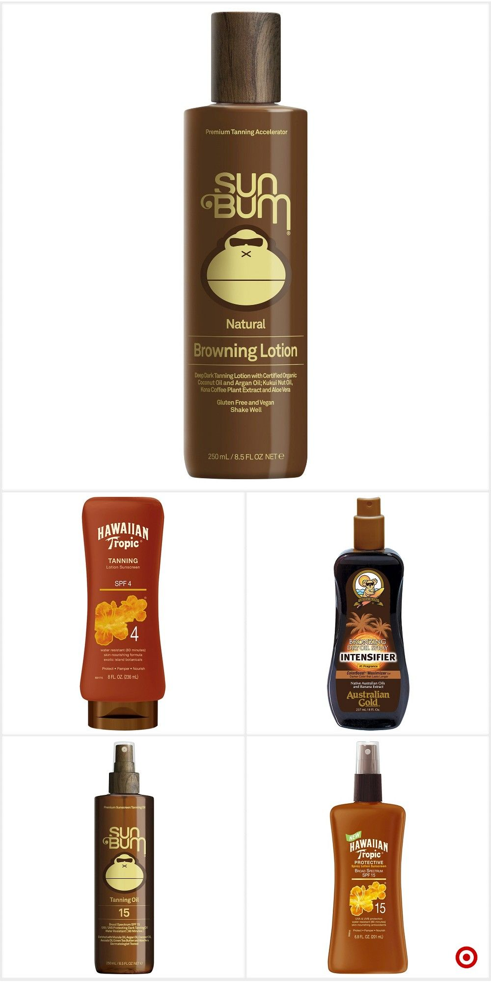 Shop Target for tanning lotions and oils you will love at