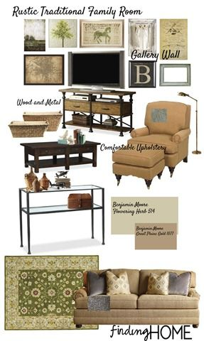 Decorating Ideas Rustic Traditional Family Room Traditional Family Rooms Family Room Home