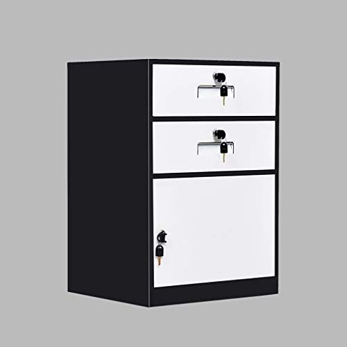 QSJY File Cabinets Disassembly Fireproof and Durable Large Space with Lock Metal Locker Compartment Design Storage Protection Important documents 443965cm (Color : B) #importantdocuments