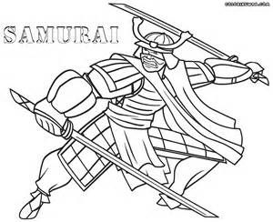 Samurai Coloring Pages sketch template  4 Kids Coloring Pages