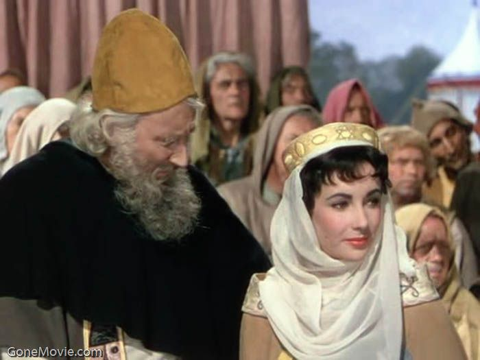 Elizabeth Taylor as Rebecca in Ivanhoe
