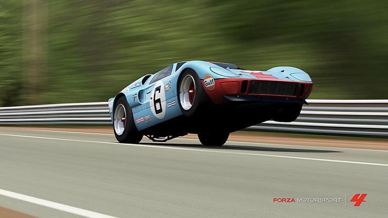 Ford Gt Mkii De Barbach Dans La Vitrine De Forza Motorsport