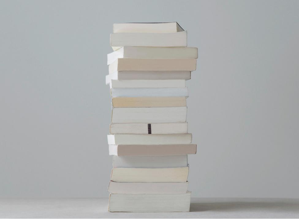 mpdrolet:  Untitled #1 (Paperbacks),  2009from Paperbacks   Mary Ellen Bartley