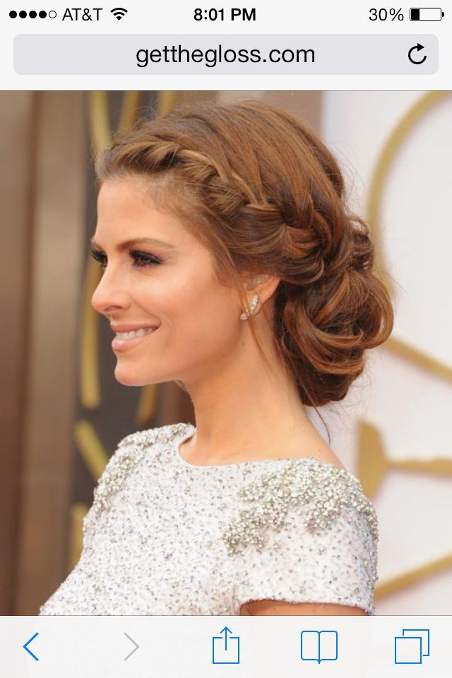 19 Fabulous Braided Updo Hairstyles With Tutorials Prom hair! #lowsidebuns