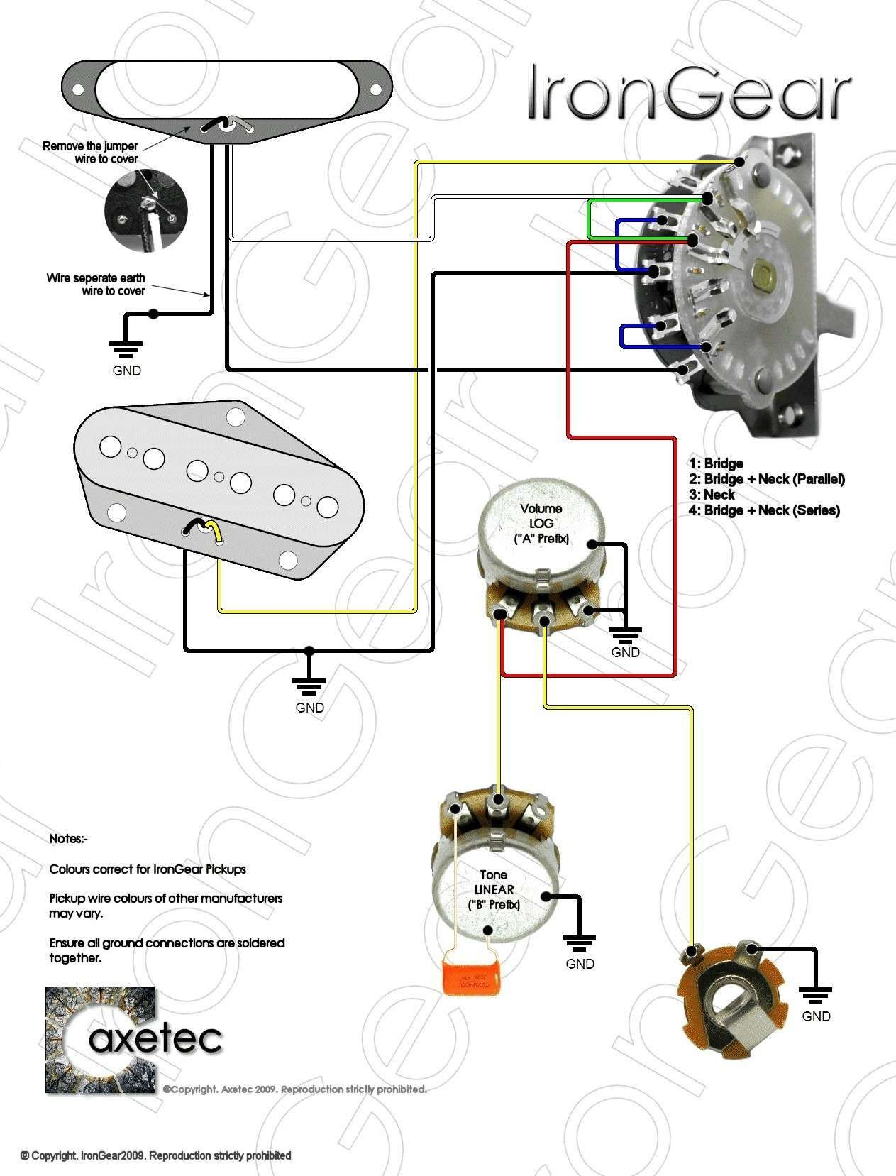 13 Auto Wiring Diagram For Telecaster 3 Way Switch Design