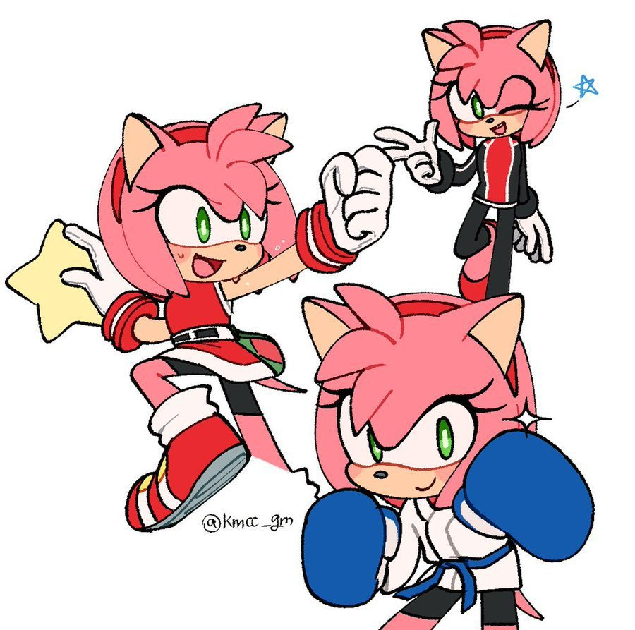 Pin By Devon White On Sonic Amy Rose Sonic Sonic The Hedgehog