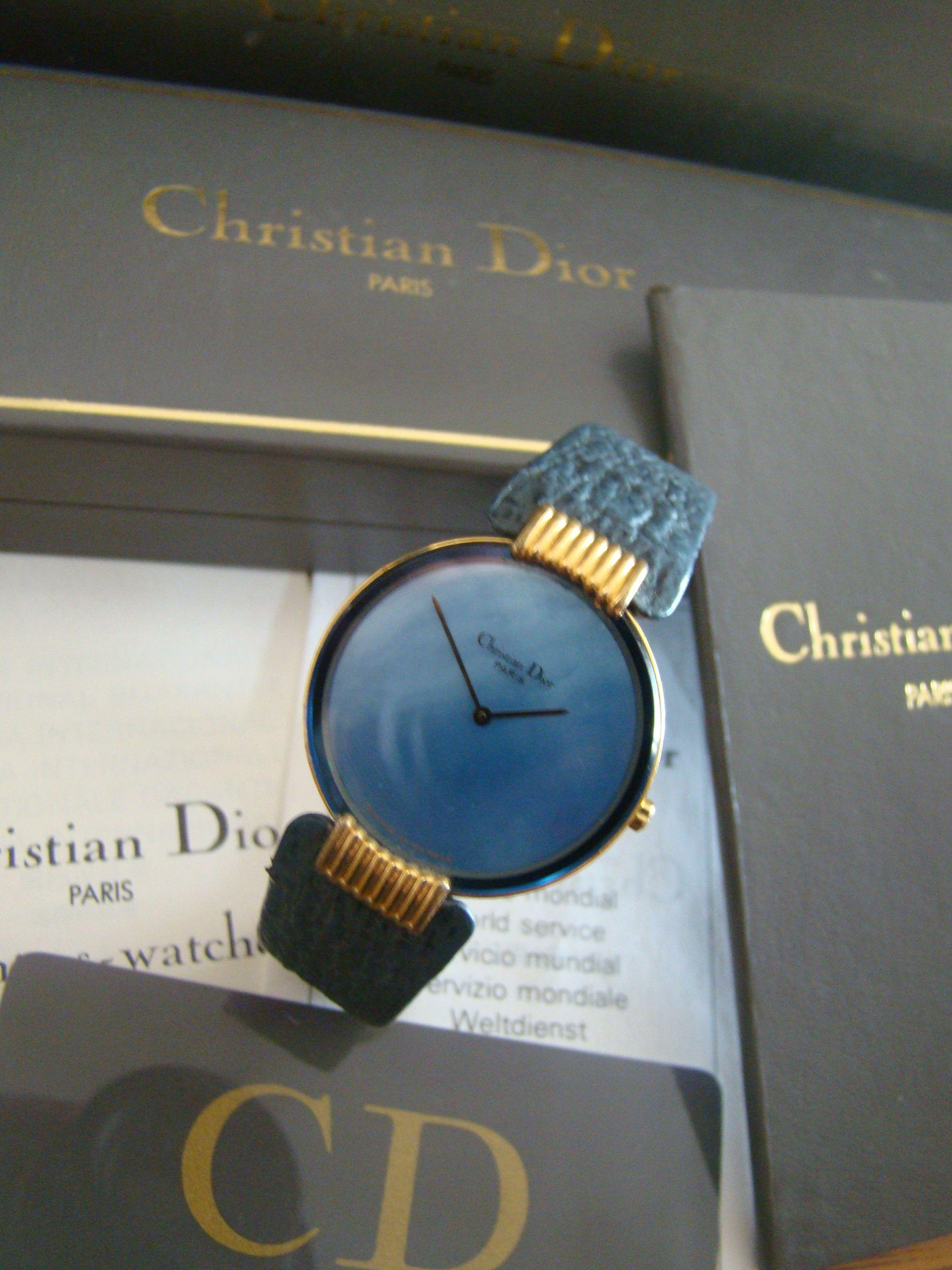 bfac9630e4 Christian Dior (reloj de dama) | Relojes de Pulsera | Reloj ...