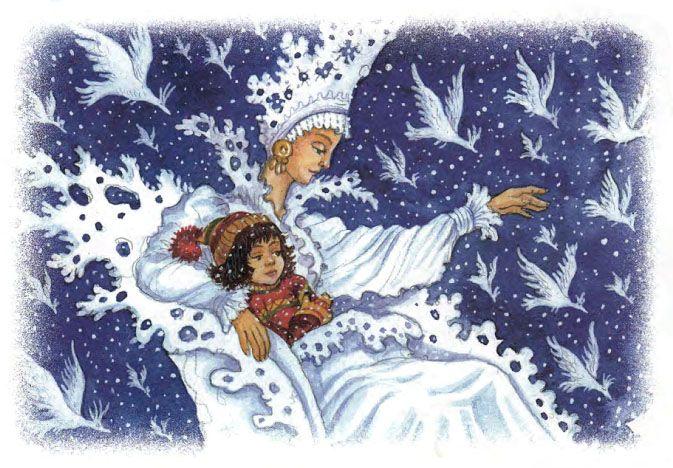 Картинки по сказкам андерсена снежная королева