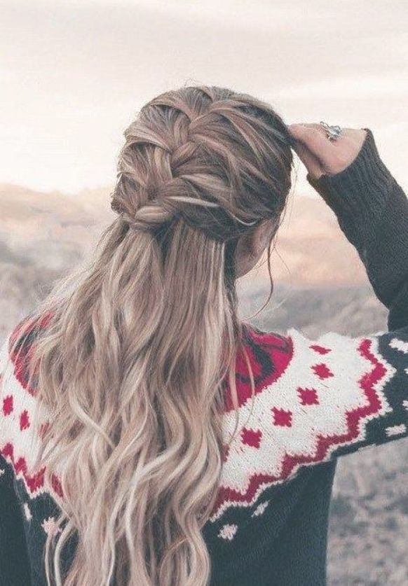 Beautiful Hairstyle For Many Kinds Of Haircuts Fashion Hair Styles Easy Hairstyles For Long Hair Long Hair Styles