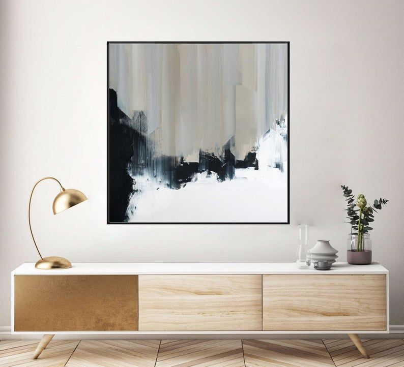 Contemporary Abstract Painting Large