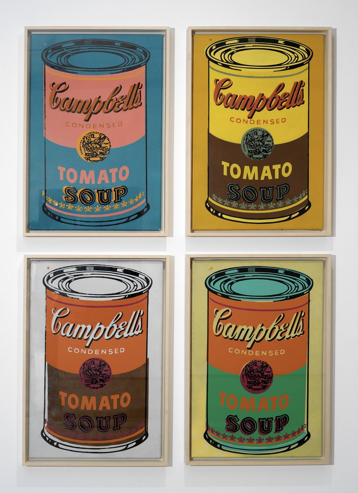 Andy Warhol S Campbell S Soup Can 1963 Andy Warhol Soup Cans Andy Warhol Pop Art Warhol