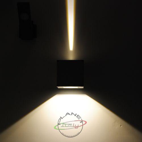 Lampada applique moderno led 10w illuminazione per esterni facciate decorazione parete perimetro - Lampade a led per casa ...