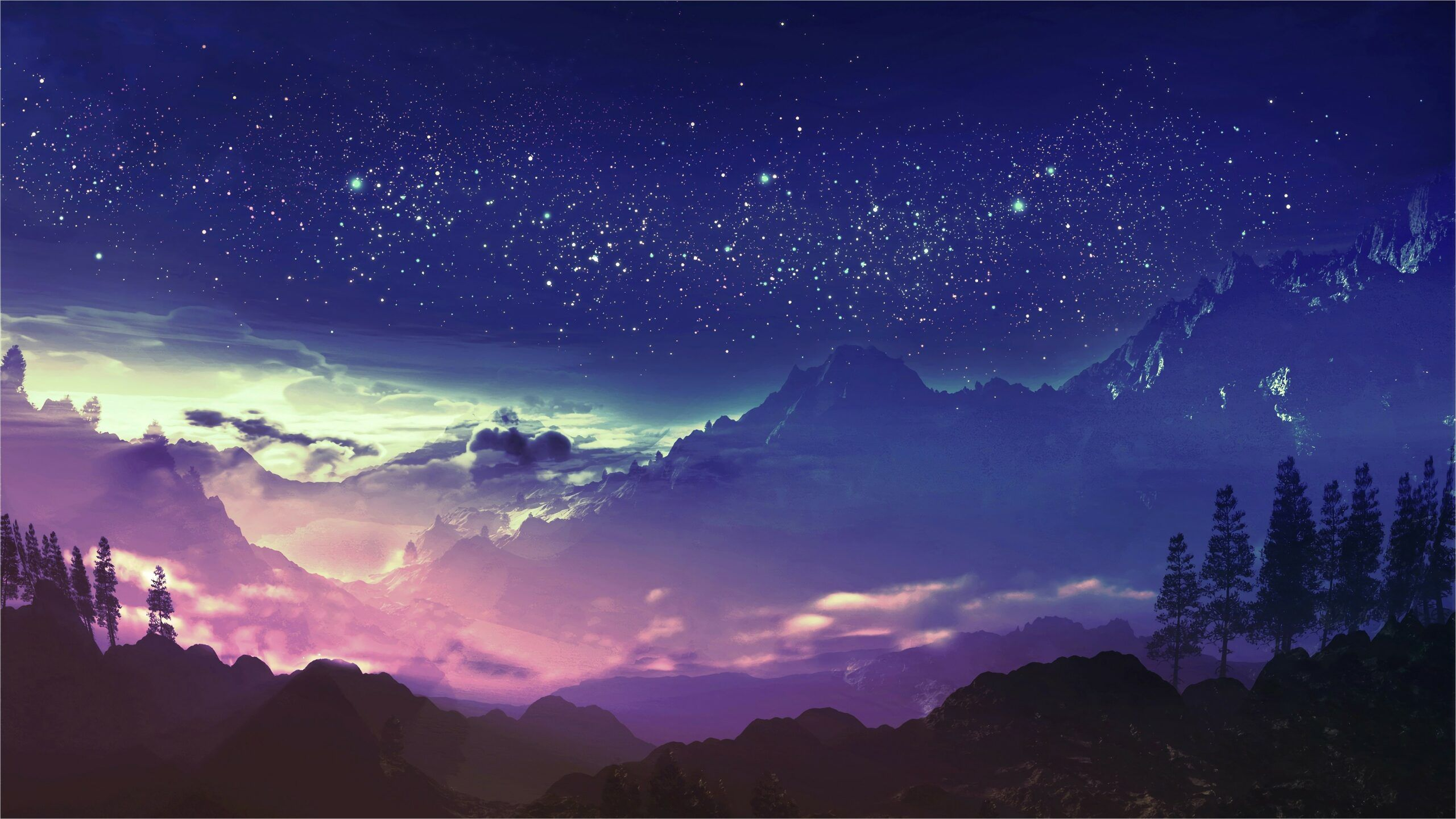 4k Wallpaper Anime Landscape In 2020 Anime Scenery Anime