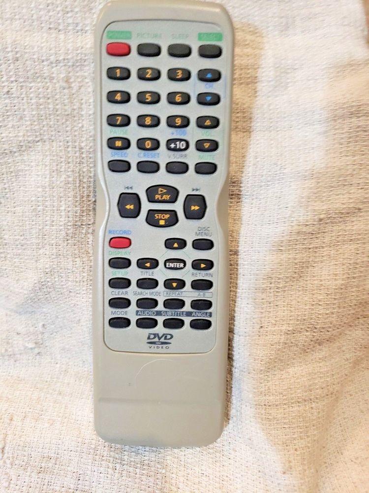 Magnavox DVD Video Remote SUM-3 IECR6 silver #Magnavox