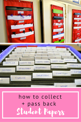 How to Collect and Pass Back Papers | Teacher Things | High school ...
