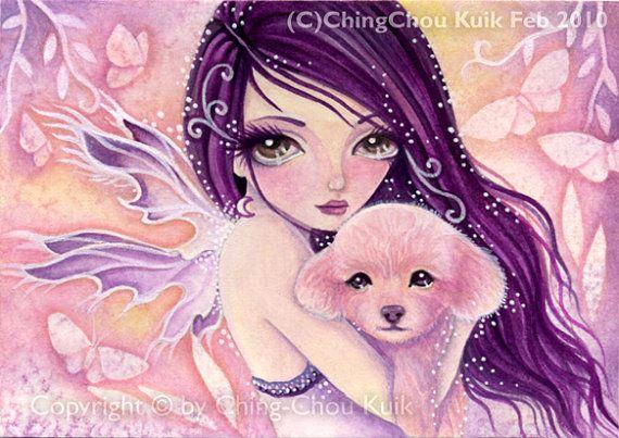 Fantasy Art Puppy